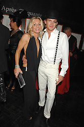 KAREN MILLEN and JACOBI ANSTRUTHER-GOUGH-CALTHORPE at Andy & Patti Wong's Chinese new Year party held at County Hall and Dali Universe, London on 26th January 2008.<br /><br />NON EXCLUSIVE - WORLD RIGHTS (EMBARGOED FOR PUBLICATION IN UK MAGAZINES UNTIL 1 MONTH AFTER CREATE DATE AND TIME) www.donfeatures.com  +44 (0) 7092 235465