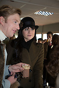 HENRY CONWAY; LILAH PARSONS, Hennessy Gold Cup, The Racecourse Newbury. 30 November 2013.