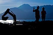 Itaguai_RJ, Brasil.<br /> <br /> Superporto Sudeste e um terminal portuario privativo de uso misto dedicado exclusivamente a movimentacao de minério de ferro em Itaguai, Rio de Janeiro.<br /> <br /> Sudeste Superport is a private mixed-use port terminal exclusively dedicated to handling of iron ore in Itaguai, Rio de Janeiro.<br /> <br /> Foto: BRUNO MAGALHAES / NITRO