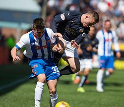 Falkirk's John Baird. Kilmarnock 4 v 0 Falkirk, second leg of the Scottish Premiership play-off final.