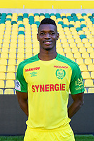 Kalifa Coulibaly during photoshooting of Fc Nantes for new season 2017/2018 on September 18, 2017 in Nantes, France. (Photo by Philippe Le Brech/Icon Sport)
