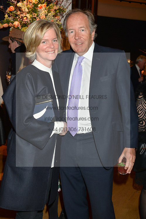 LORD & LADY BRUCE DUNDAS at a party to celebrate the publication of Interiors For Living by Joanna Wood held at Christie's. 8 King Street, St.James's, London on 2nd March 2015.