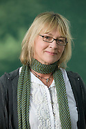 British writer Kitty Aldridge, pictured at the Edinburgh International Book Festival where she talked about her new entitled Cryers Hill. The Book Festival was the World's largest literary event and featured writers from around the world. The 2007 event featured around 550 writers and ran from 11-27 August.