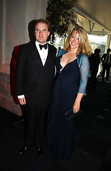 LORD & LADY DALMENY at the Fortune Forum Dinner held at Old Billingsgate, 1 Old Billingsgate Walk, 16 Lower Thames Street, London EC3R 6DX<br />