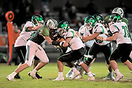 Holy Name at Elyria Catholic varsity football and Senior Night on October 18, 2019. Image © David Richard and may not be copied, posted, published or printed without permission.