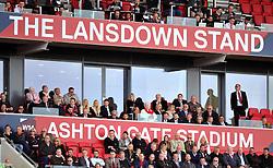 Directors' box at Ashton Gate Stadium - Mandatory by-line: Paul Knight/JMP - 01/10/2016 - FOOTBALL - Ashton Gate Stadium - Bristol, England - Bristol City v Nottingham Forest - Sky Bet Championship