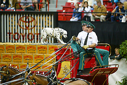 Budweiser haevy horses<br /> World Cup Final Jumping - Las Vegas 2003<br /> © Hippo Foto - Dirk Caremans