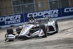 July 14, 2018 - Toronto, Ontario, Canada - GRAHAM RAHAL (15) of the United States takes to the track to practice for the Honda Indy Toronto at Streets of Toronto in Toronto, Ontario. (Credit Image: © Justin R. Noe Asp Inc/ASP via ZUMA Wire)