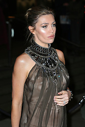Abbey Clancy arrives at the Late Fabulous Fund Fair at the Roundhouse in London during the Autumn/Winter 2019 London Fashion Week. PRESS ASSOCIATION. Picture date: Monday February 18, 2019. Photo credit should read: Isabel Infantes/PA Wire