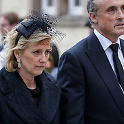 LUX/Luxemburg/20190504 -  Funeral<br /> of HRH Grand Duke Jean, Uitvaart Groothertog Jean, Astrid en partner Lorenz van oostenrijk-Este