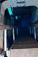 Stairs to first platform, USS Kittiwake