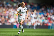 Rebekah Scott (New Zealand) during the FIFA Women's World Cup UEFA warm up match between England Women and New Zealand Women at the American Express Community Stadium, Brighton and Hove, England on 1 June 2019.