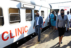 South Africa - Durban - 19 May 2020 - KwaZulu Natal Premier Sihle Zikalala launched the Transnet-Phelophapa healthcare train in Phoenix, north of Durban<br /> Picture: Doctor Ngcobo/African News Agency(ANA)