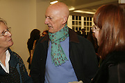 Allen Jones, Ellsworth Kelly exhibition opening. Serpentine Gallery and afterwards at the River Cafe. London. 17 March 2006. ONE TIME USE ONLY - DO NOT ARCHIVE  © Copyright Photograph by Dafydd Jones 66 Stockwell Park Rd. London SW9 0DA Tel 020 7733 0108 www.dafjones.com