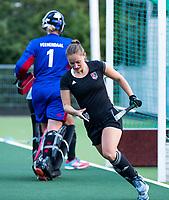 AMSTELVEEN - Kelly Jonker (A'dam)    tijdens de  training van de dames van Amsterdam (AH&BC) voor de eerste competitiewedstrijd. COPYRIGHT KOEN SUYK