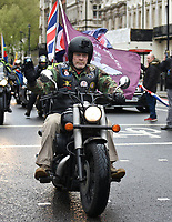 Rolling Thunder UK  Enough Is Enough Respect our Veterans Ride and march through london ending at   Parliament Square
