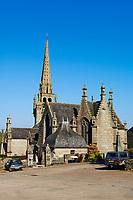 France, Finistère (29), eglise de Locmelar// France, Briitany, Finistere, Locmelar church