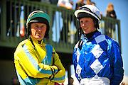 April 7, 2012 - Robbie Walsh and Darren Nagle at Stoneybrook Steeplechase, Raeford NC