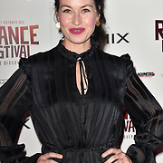 Mamie McCoy attends the Raindance Opening Gala 2018 held at Vue West End, Leicester Square on September 26, 2018 in London, England.