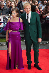 © licensed to London News Pictures. London, UK 18/06/2012. Anna Freil and Rhys Ifans attending to the premiere of The Amazing Spider-Man today in Leicester Square. Photo credit: Tolga Akmen/LNP