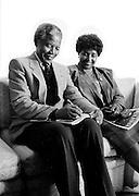 Nelson and Winnie Mandela - London 1997