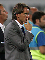 Pisa 14/8/2004 Inter Aek Atene 5-1 Friendly tournament Sky. Roberto Mancini Inter Trainer, allenatore dell Inter<br /> <br /> Foto Andrea Staccioli Graffiti