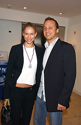 CLAIRE GUERLAIN and MARKUS ARKANT at a party hosted by O2 to announce their support for grassroots music through the launch of a nationwide music talent search 'O2 Undiscovered' held at The Hospital, Endell Street, London on 8th March 2006.<br /><br />NON EXCLUSIVE - WORLD RIGHTS