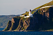 The lighthouse at McArthur's Head. This remote location can be seen from the Port Askaig ferry on approach to the Sound of Islay