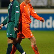 NLD/Heerenveen/20051116 - Voetbal, Jong Oranje - Jong Slovenië, Klaas Jan Huntelaar