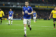 Seamus Coleman of Everton looking on. Premier league match, Watford v Everton at Vicarage Road in Watford, London on Saturday 10th December 2016.<br /> pic by John Patrick Fletcher, Andrew Orchard sports photography.