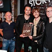 NLD/Amsterdam/20110516 - Boekpresentatie History van Cors van den Berg en William Rutten, Giel Beelen en Dianand Woesthoff