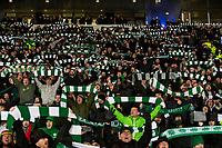 Football - 2019 Betfred Scottish League Cup Final - Celtic vs. Rangers<br /> <br /> Celtic fans during the game, Hampden Park Glasgow.<br /> <br /> COLORSPORT/BRUCE WHITE