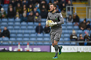 Oxford United Goalkeeper, Simon Eastwood (1) during the EFL Sky Bet League 1 match between Oxford United and Bristol Rovers at the Kassam Stadium, Oxford, England on 10 February 2018. Picture by Adam Rivers.