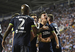 Derby County's Mason Mount celebrates scoring his side's first goal of the game