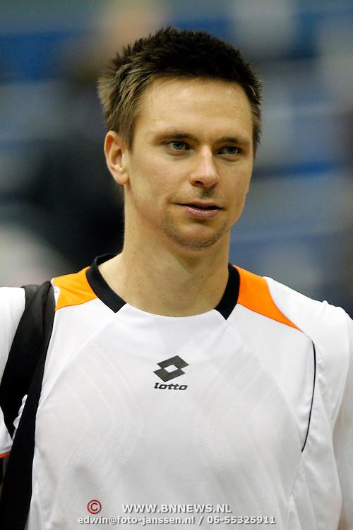 NLD/Rotterdam/20100214 - ABN - AMRO tennistoernooi 2010, finale, winnaar Robin Söderling