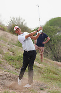 Adrian Meronk (POL) on the 9th during Round 1 of the Oman Open 2020 at the Al Mouj Golf Club, Muscat, Oman . 27/02/2020<br /> Picture: Golffile   Thos Caffrey<br /> <br /> <br /> All photo usage must carry mandatory copyright credit (© Golffile   Thos Caffrey)