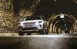 08.10.2019, Grossglockner Hochalpenstrasse, Fusch a.d. Grs, AUT, Land Rover Discovery Sport im Bild Aussenansicht des SUV bei Nacht im Hochtor Tunnel. // Exterior view of the Land Rover Discovery Sport SUV at night at the Hochtor Tunnel, Grossglockner Hochalpenstrasse, Fusch an der Glocknerstrasse, Austria on 2019/10/08. EXPA Pictures © 2019, PhotoCredit: EXPA/ JFK