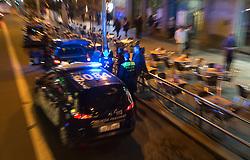 THEMENBILD - Polizei Feature. Die Stadt Madrid ist eine der größten Metropolen in Europa. Sie liegt im Zentrum der iberischen Halbinsel und ist Hauptstadt von Spanien. Aufgenommen am 25.03.2016 in Madrid ist Spanien // Madrid is on of the biggest metropolis in Europe. It is located in the center of the Iberian Peninsula and is the capital of Spain. Spain on 2016/03/25. EXPA Pictures © 2016, PhotoCredit: EXPA/ Jakob Gruber