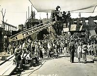 1942 Filming at Columbia Studios