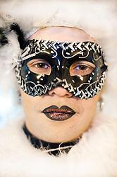 Putignano - carnevale, maschera