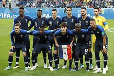 France v Belgium - 10 July 2018