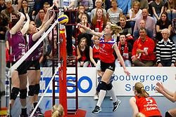 20150425 NED: Eredivisie VC Sneek - Eurosped, Sneek<br />Fenna Zeinstra, VC Sneek<br />©2015-FotoHoogendoorn.nl / Pim Waslander