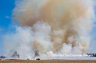 63863-02814 Prescribed Burn by IDNR Prairie Ridge State Natural Area Marion Co. IL