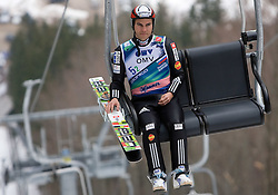 DAMJAN Jernej, SSK Ilirija, SLO before Flying Hill Team First Round at 4th day of FIS Ski Flying World Championships Planica 2010, on March 21, 2010, Planica, Slovenia.  (Photo by Vid Ponikvar / Sportida)