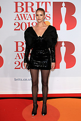 attends the Brit Awards at the O2 Arena in London, UK. 21 Feb 2018 Pictured: Rosie Huntington-Whiteley. Photo credit: MEGA TheMegaAgency.com +1 888 505 6342