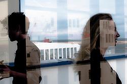 """Terminal Crociere del Porto di Bari, 21 OTTOBRE 2011.Chiusura della terza edizione del progetto """"Puglia Experience"""" 2011, workshop di sceneggiatura itinerante riservato a sedici sceneggiatori provenienti dai Paesi membri dell'Unione Europea e del Mediterraneo.."""