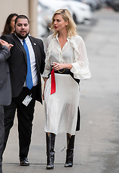 Charlize Theron is seen at 'Jimmy Kimmel Live' in Los Angeles, California. NON EXCLUSIVE March 07, 2018. 07 Mar 2018 Pictured: Charlize Theron. Photo credit: RB/Bauergriffin.com/MEGA TheMegaAgency.com +1 888 505 6342
