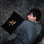 Homless, Roma 12 Ottobre 2014.  Christian Mantuano / OneShot