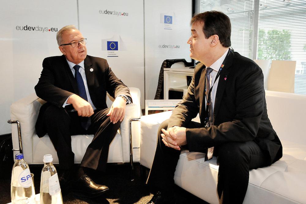 20150603- Brussels - Belgium - 03 June2015 - European Development Days - EDD  - Bilateral Meeting  © EU/UE