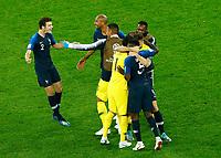 Benjamin Pavard (France) celebrates with the teammates<br /> Saint Petersburg 10-07-2018 Football FIFA World Cup Russia  2018 Semifinal <br /> France - Belgium / Francia - Belgio <br /> Foto Matteo Ciambelli/Insidefoto